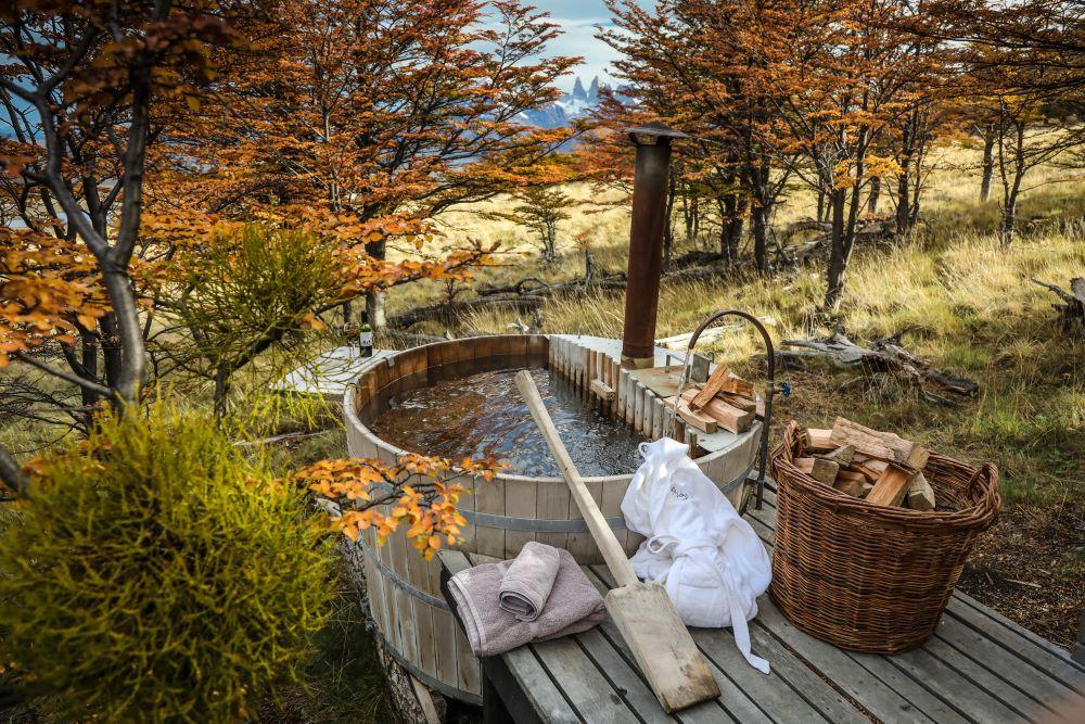 Awasi Patagonia Exterior Bath